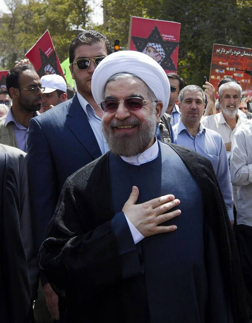 President-elect Hassan Rouhani may be Iran's hope for moderation