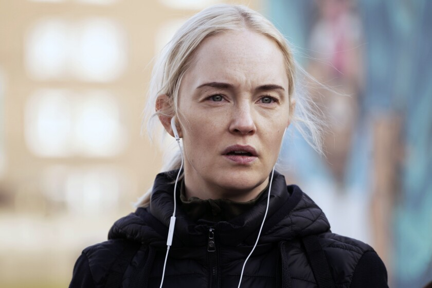 "Sofia Pekkari stars in ""Cold Courage."""