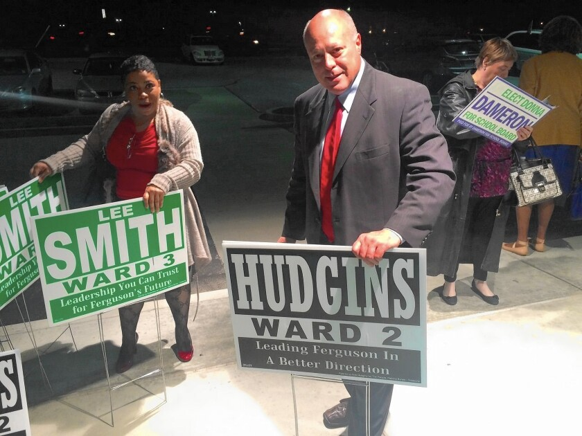 Ferguson protester Bob Hudgins is now running for a seat on the City Council.