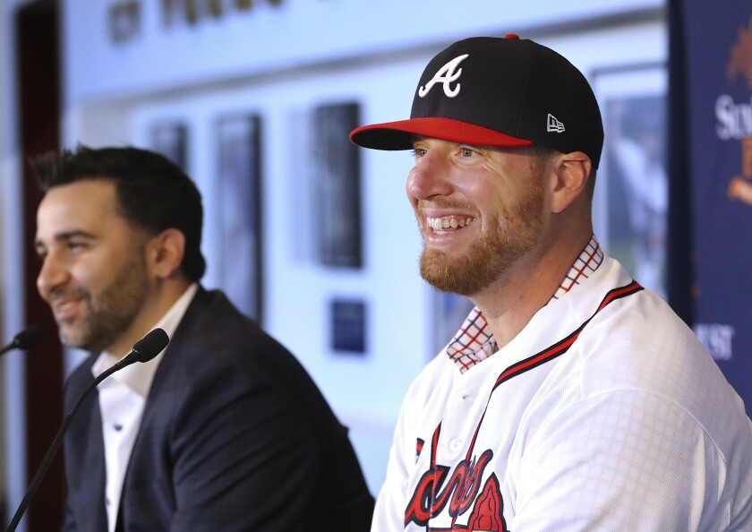 Braves Smith Plans Baseball