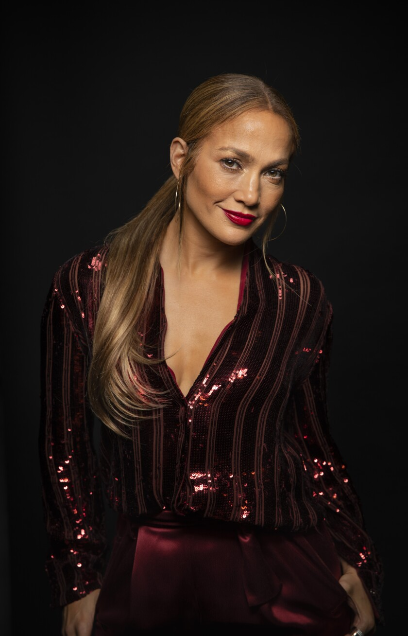Musician and actress Jennifer Lopez