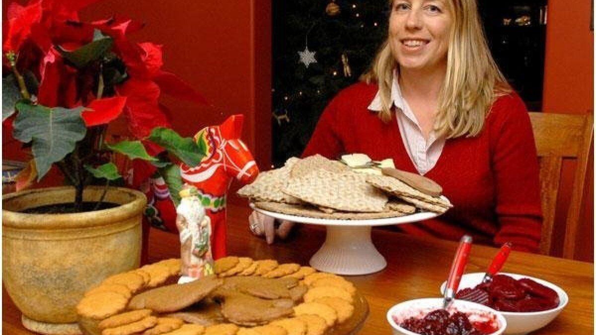 A Swedish Christmas: Smorgasbord that marks Christmas Eve goes