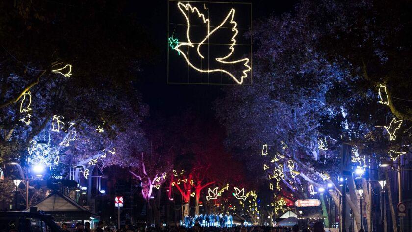 SPAIN-CHRISTMAS-PEACE-FEATURE