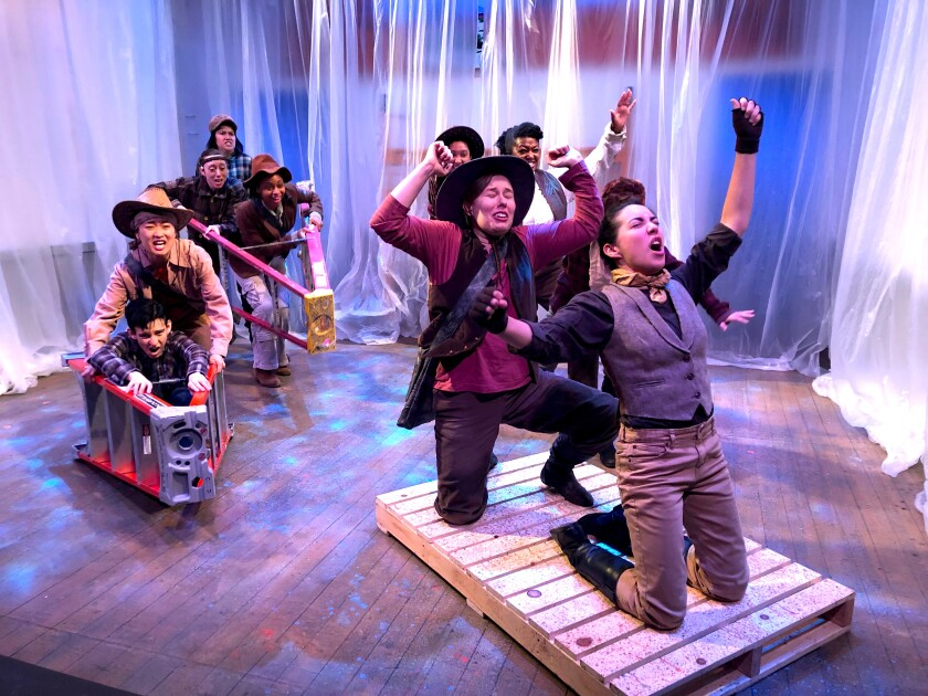 'Men on Boats' at Son of Semele