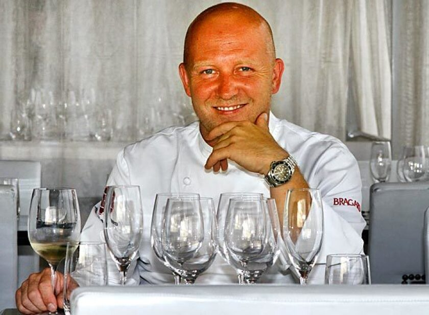 """Stefan Richter has opened two Santa Monica restaurants and this year had a cameo on HBO's """"Entourage."""""""