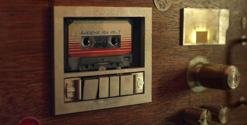 """The soundtrack of """"Guardians of the Galaxy"""" topped the Billboard 200 album chart on Aug. 13."""