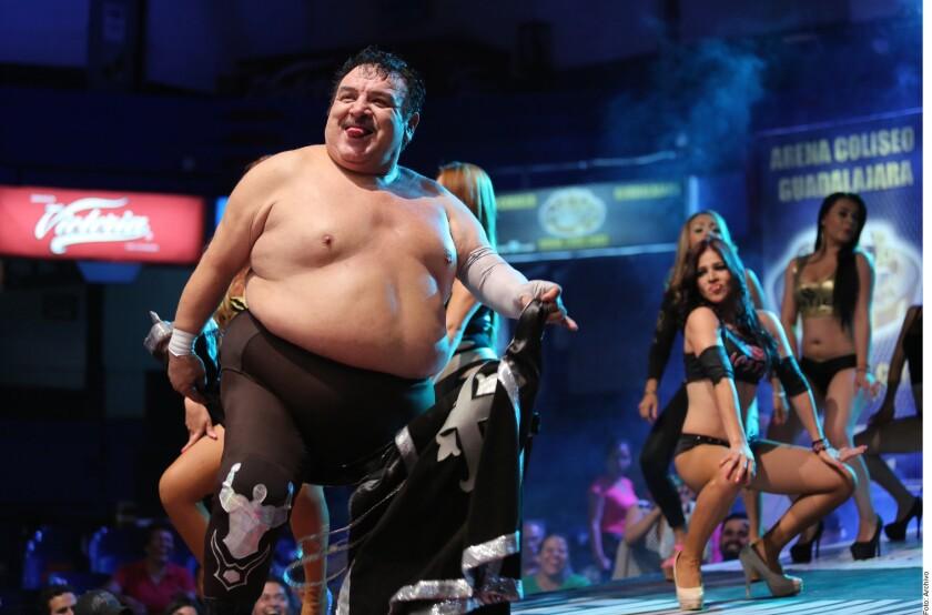 Súper Porky era uno de los luchadores más carismáticos de los últimos tiempos.
