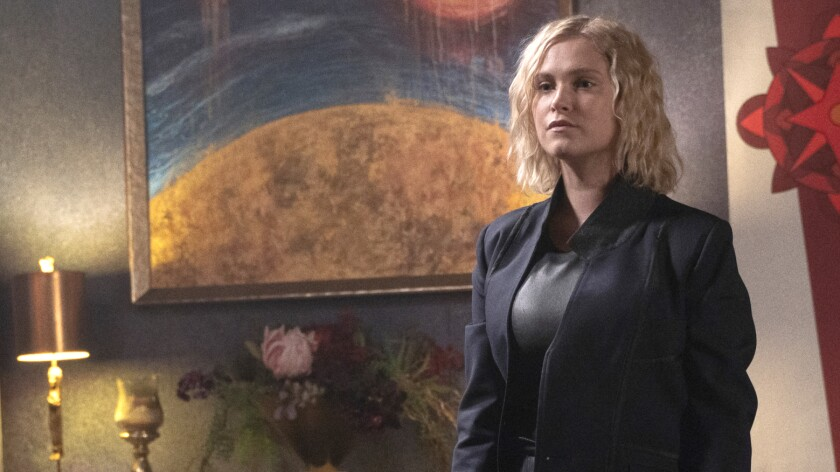 """Eliza Taylor in the season premiere of the science-fiction adventure """"The 100"""" on the CW."""