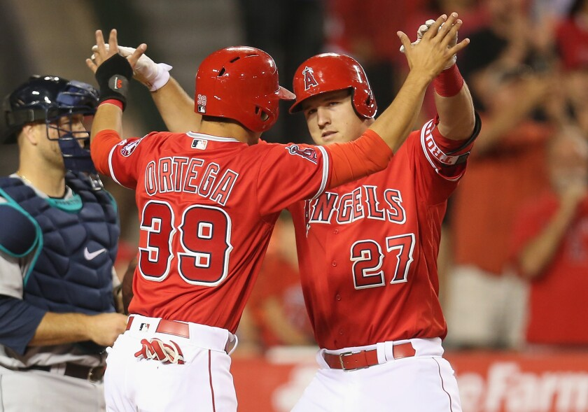 Mike Trout, again, delivers in Angels victory over the Mariners, 4-2