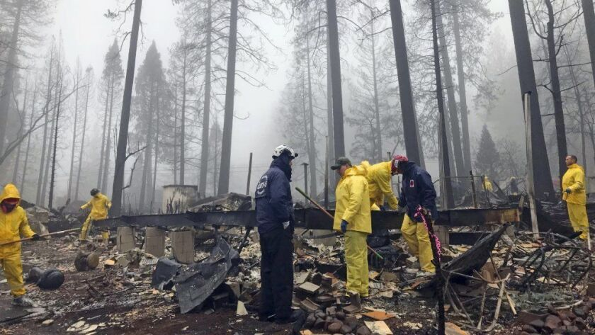 California's deadliest fire on record is 100% contained, officials say