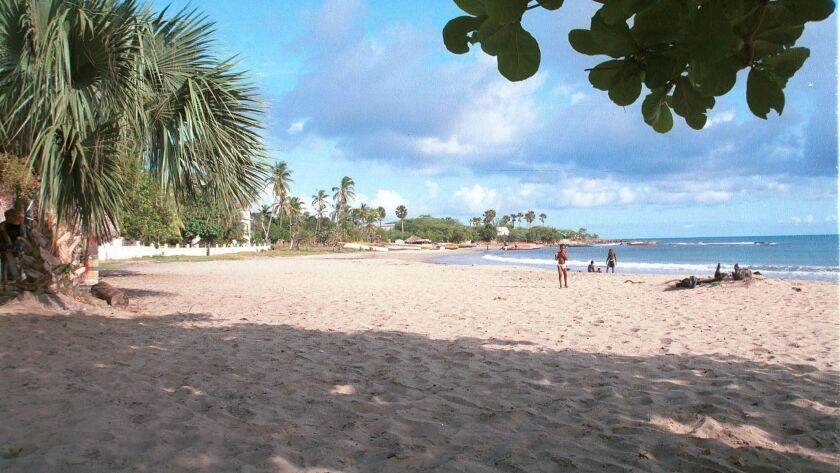 The best-performing stock market in 2018 was an unlikely contender — and better known for its beaches than its economy. The Jamaican Stock Exchange has surged more than 300% over the last five years. Above, Treasure Beach in southeast Jamaica.