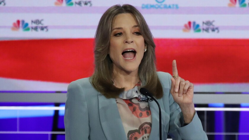 Opinion: Marianne Williamson might have just shown the Democrats how to beat Trump