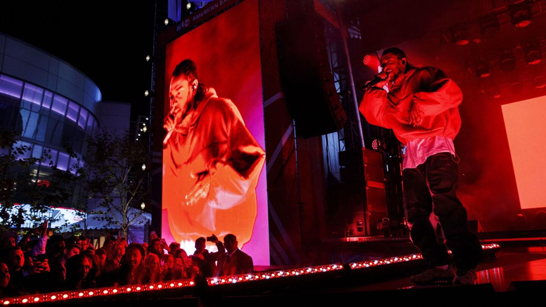 Kendrick Lamar concert kicks off NBA All-Star party