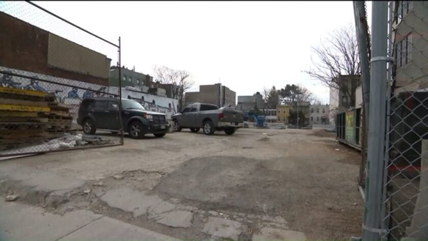 A vacant lot in Brooklyn is believed by some to be the site of a mass grave of Revolutionary War sol
