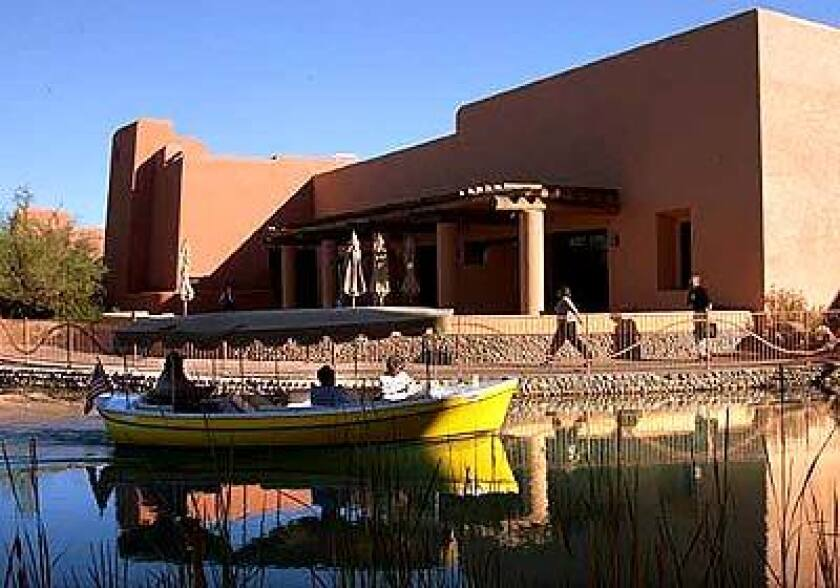 The Sheraton Wild Horse Pass resort, part of the Gila River Indian Community south of Phoenix, has a casino, a golf course and horse stables.