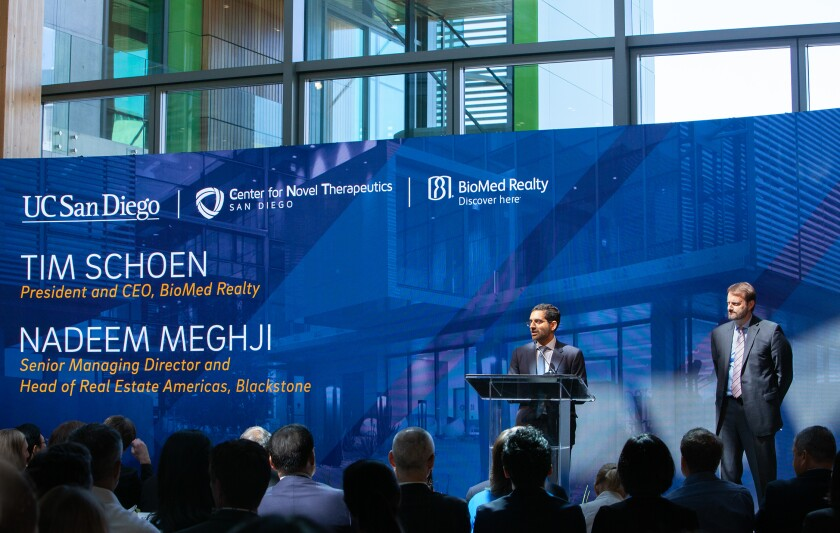 Center for Novel Therapeutics Opening