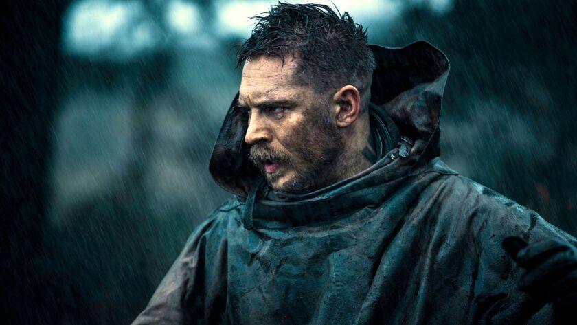 """Tom Hardy as James Keziah Delaney in """"Taboo."""""""