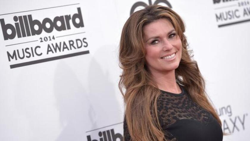 Shania Twain arrives at the Billboard Music Awards at the MGM Grand Garden Arena on Sunday, May 18, 2014, in Las Vegas. (Photo by John Shearer/Invision/AP) (/ The Associated Press)