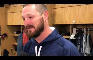 Travis Wood a hit in Padres debut