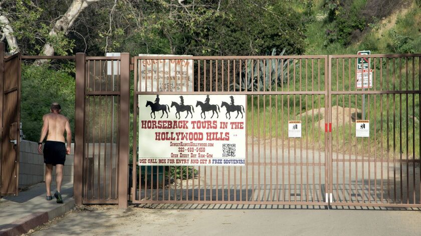 The Beachwood Drive gate will soon be off-limits if you're trekking to the Hollywood sign.