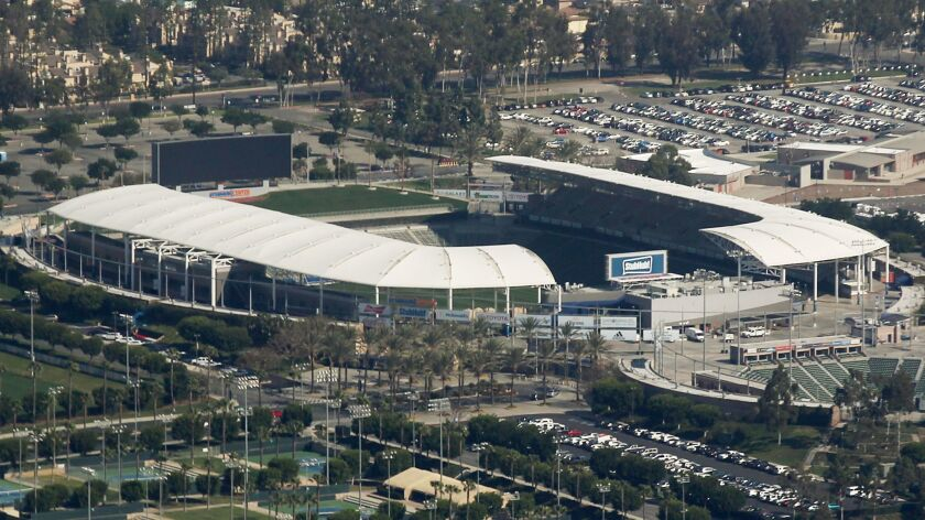 The Chargers will play at StubHub Center in Carson until the Inglewood stadium they will share with the Rams is built.