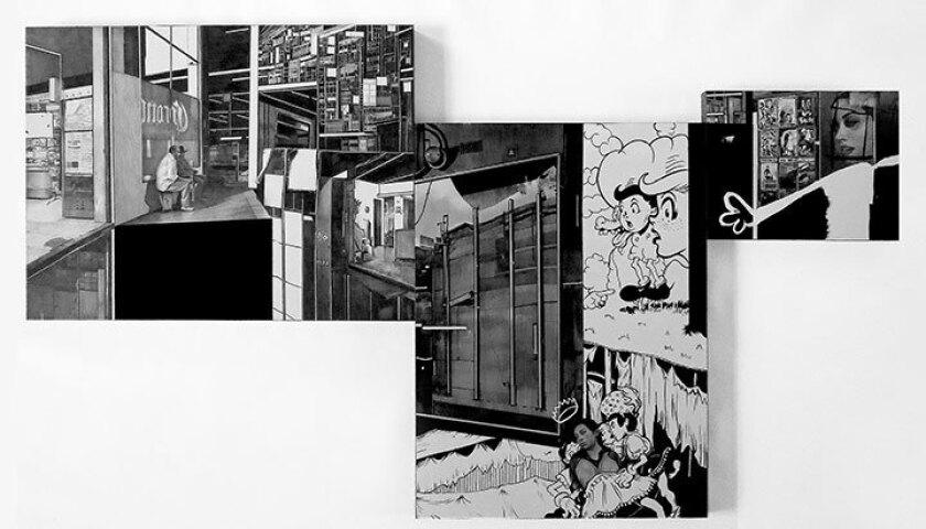 """Hugo Crosthwaite, """"Tijuana Radiant Shine, No. 5,"""" 2014"""