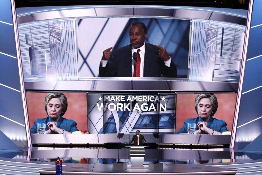 Ben Carson slams Clinton