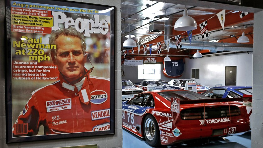 Adam Carolla's Paul Newman cars