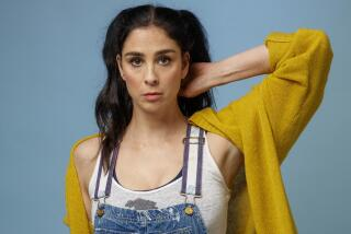 Comedian Sarah Silverman finds it stressful to watch comedy on TV