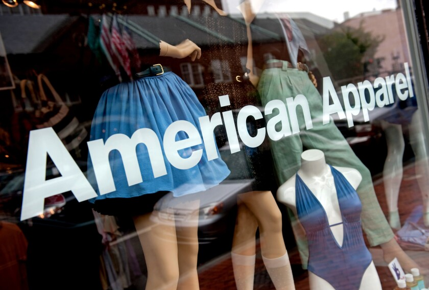 As a new CEO takes the reins, American Apparel may be headed soon to a new owner.