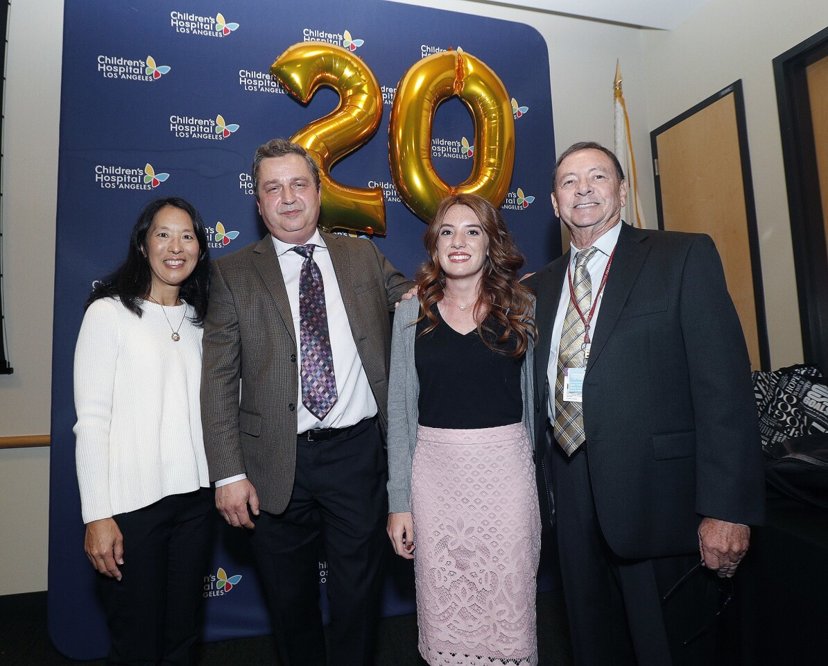 Photo Gallery: 20 year anniversary of first liver transplant at Children's Hospital Los Angeles