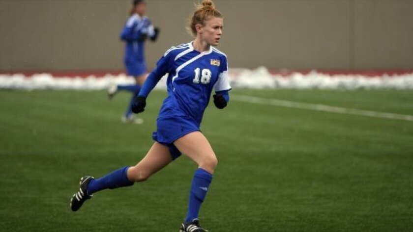 Anne Wethe and the Tritons will debut at No. 2 in 2011. Courtesy UCSD