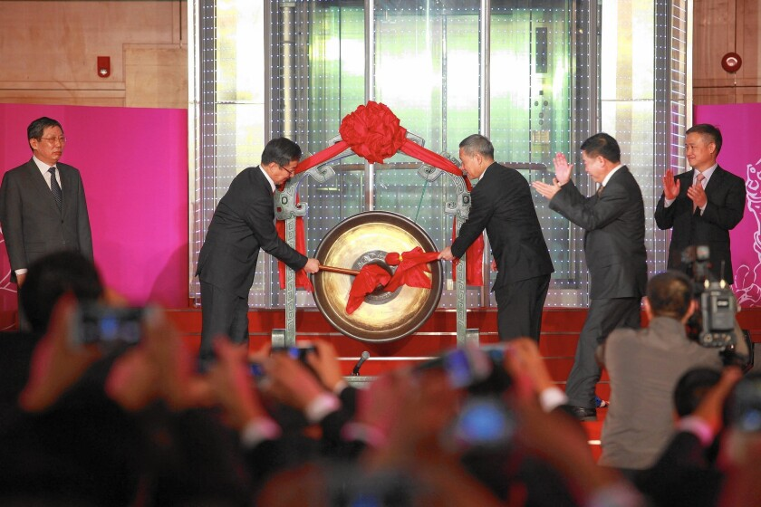 China capital markets opened
