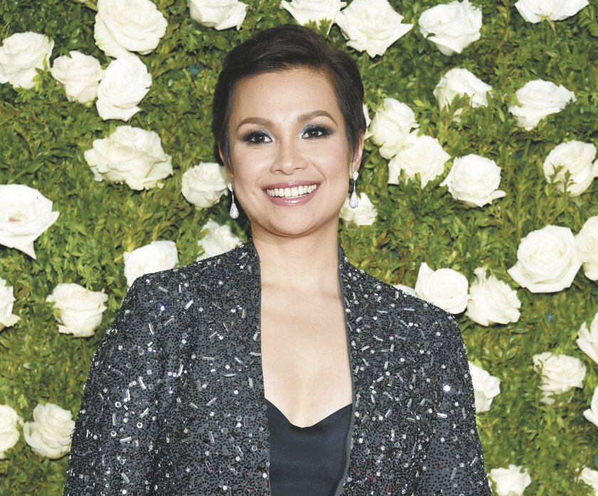 Lea Salonga performs in the San Diego Symphony City Lights series on Sunday afternoon at Copley Symphony Hall's Jacobs Music Center in downtown San Diego.