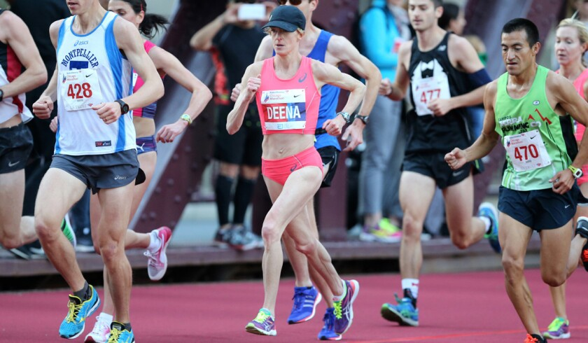 At 42, Deena Kastor isn't through with the marathon
