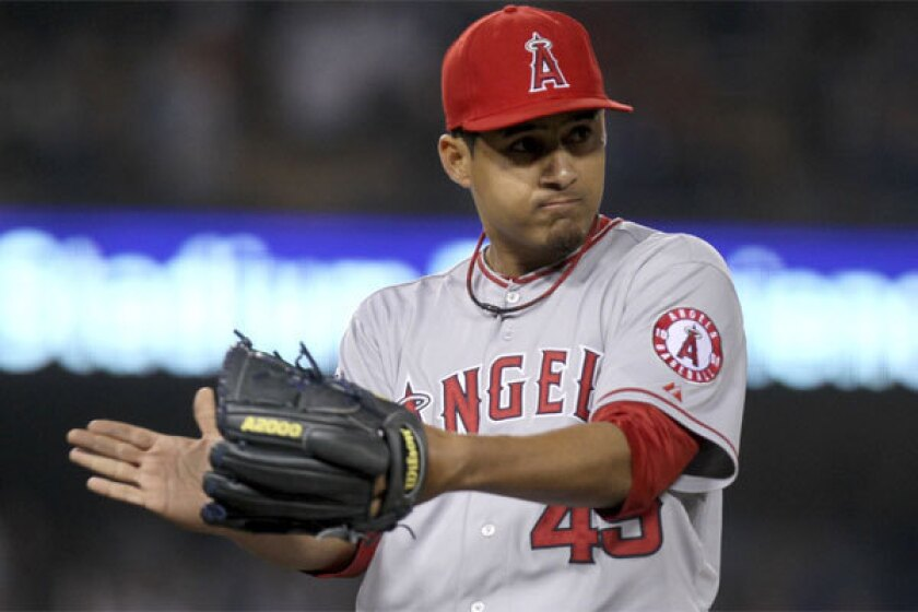 Angels hope Ernesto Frieri is a one-and-done closer this season