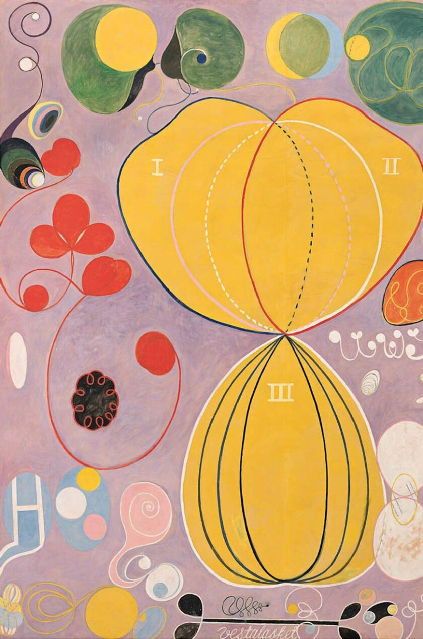"""The Athenaeum's """"Dimensions of Abstract Art"""" lecture will discuss this piece by Hilma af Klint, among others, on Nov. 3."""