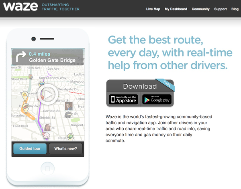 Talks on an acquisition of Waze by Facebook have reportedly fallen apart.