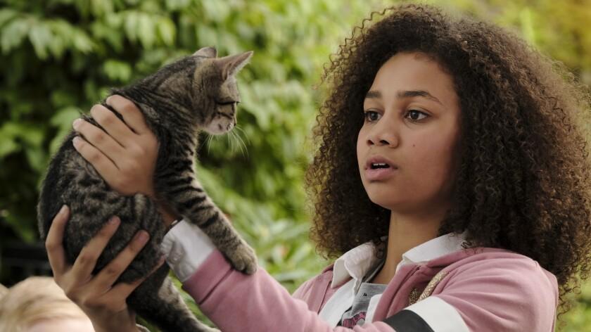 "Izabela Rose in the TV movie ""Upside-Down Magic"" on Disney."