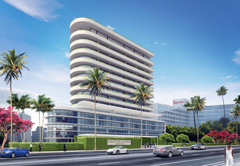 The coming Waldorf Astoria was designed with an Art Deco style in mind (artist's rendering).
