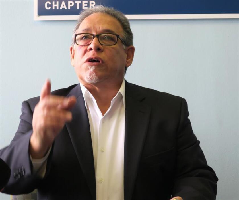 El director ejecutivo de la Unión Americana de Libertades Civiles (ACLU) en Puerto Rico, William Ramírez. EFE/Archivo
