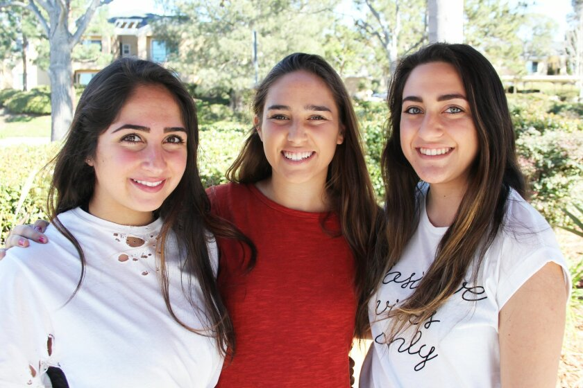 Sara Esmaili, Farah Farjood and Hana Chitgari organized Art for Hope, a charity art bazaar to take place March 1.