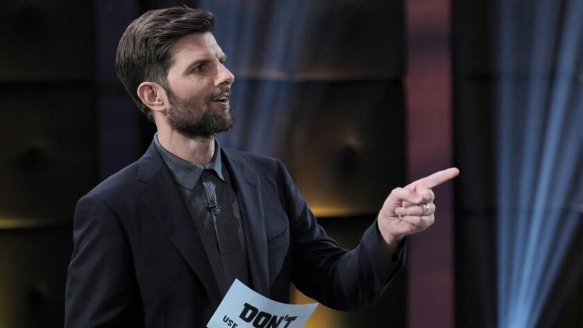 "Adam Scott hosts the ABC game show ""Don't."""