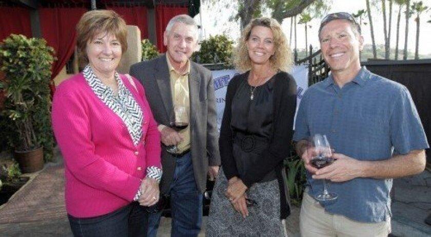 Yvonne and Andrew Szikla, Michelle Schreiner, Jeff Seckendorf