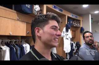 Luis Urias on getting his first big league hits, acclimating to Padres and more