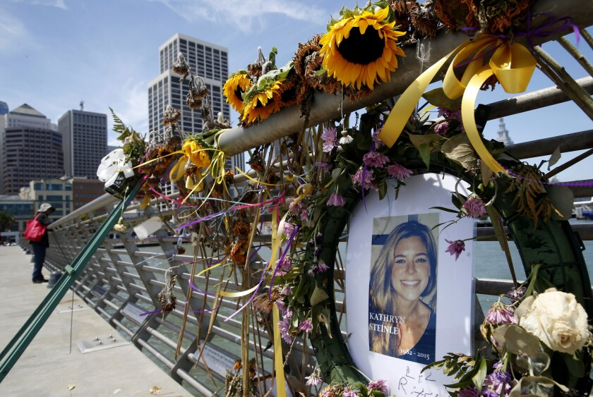 Suit blaming feds in Kate Steinle's shooting is tossed ... on map of san francisco pier 15, map of fisherman's wharf pier 14, map of san francisco pier 28, map of san francisco pier 1, map of san francisco pier 39 area,