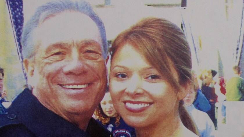 Donald Sterling, left, initially denied any romantic relationship with Alexandra Castro, right, under oath, but when confronted at a deposition with intimate photos he acknowledged the affair.