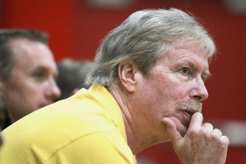 El Camino's Ray Johnson got a taste of college basketball as an assistant coach at Fairleigh Dickinson in 2009-10.