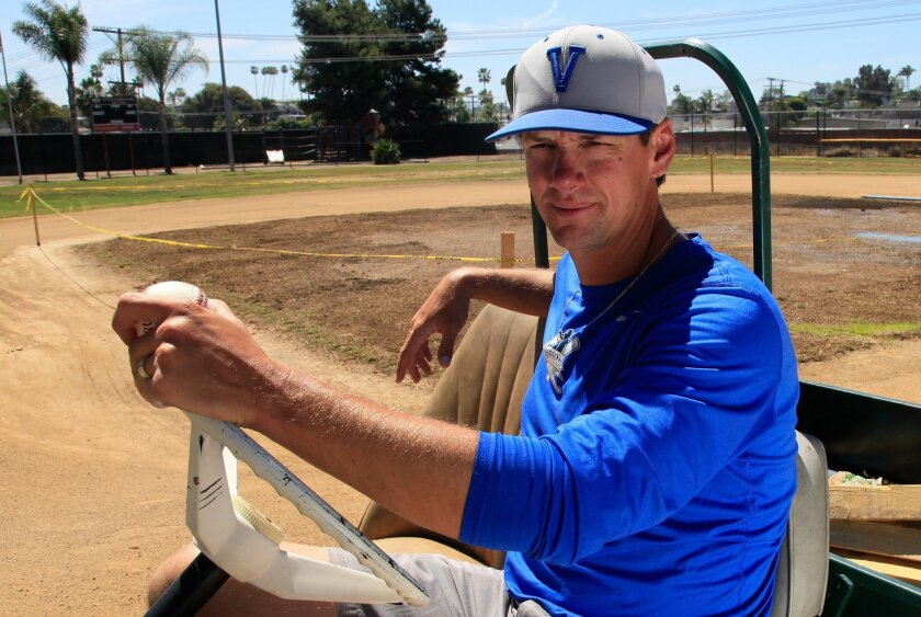 In exchange for some club field time this summer, former professional baseball player and Olympic silver medalist Adrian Burnside is renovating the youth baseball field at the Boys & Girls club of Vista at his own expense.