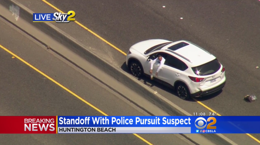 Pursuit in Seal Beach